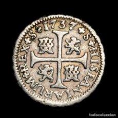 Monedas de España: ESPAÑA - FELIPE V (1700-1746). 1/2 REAL. 1737. SEVILLA. P-A (7575). Lote 183880902