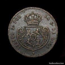 Monedas de España: ISABEL II (1833-1868) 1/2 REAL (CINCO DECIMAS) 1850 SEGOVIA (9261). Lote 183886931