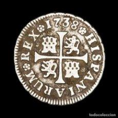 Monedas de España: ESPAÑA - FELIPE V (1700-1746). 1/2 REAL. 1738. MADRID J.F.. Lote 183888612