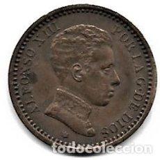 Monedas de España: MONEDA 2 CÉNTIMOS COBRE ALFONSO XIII EN BUEN ESTADO (VER FOTOGRAFÍAS). Lote 184110575