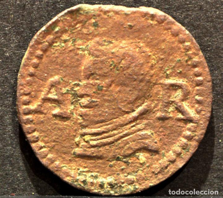 ARDIT DINERO DE BARCELONA 1655 FELIPE IV (Numismática - España Modernas y Contemporáneas - De Reyes Católicos (1.474) a Fernando VII (1.833))