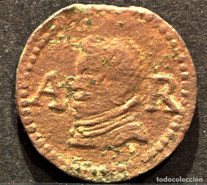 Monedas de España: ARDIT DINERO DE BARCELONA 1655 FELIPE IV - Foto 2 - 60996371