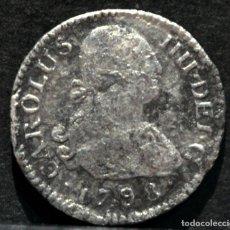 Monedas de España: ½ MEDIO REAL 1798 MADRID CARLOS IV PLATA ESPAÑA. Lote 144468226