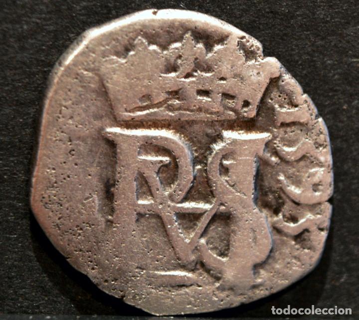 Monedas de España: ½ MEDIO REAL 1593 SEVILLA FELIPE II PLATA ESPAÑA - Foto 2 - 62878380