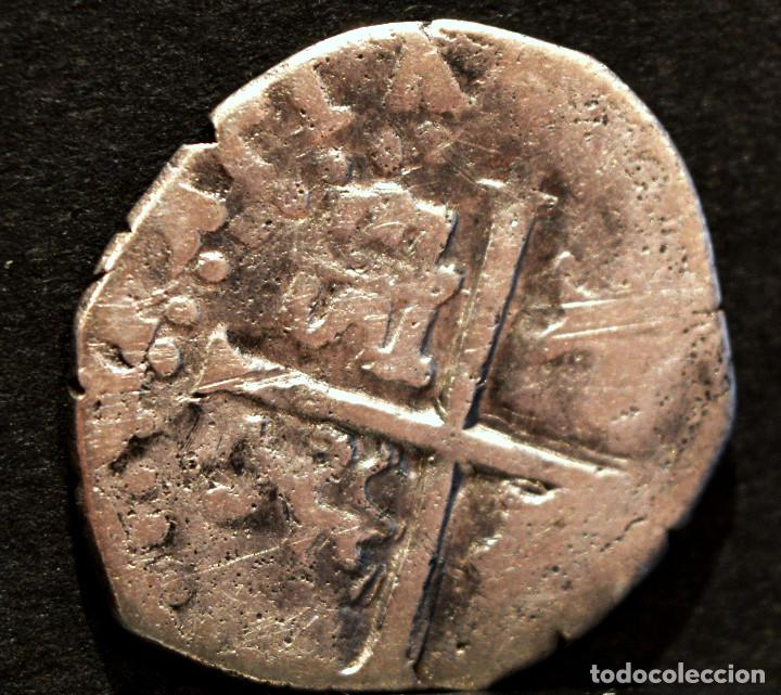 Monedas de España: ½ MEDIO REAL 1593 SEVILLA FELIPE II PLATA ESPAÑA - Foto 3 - 62878380
