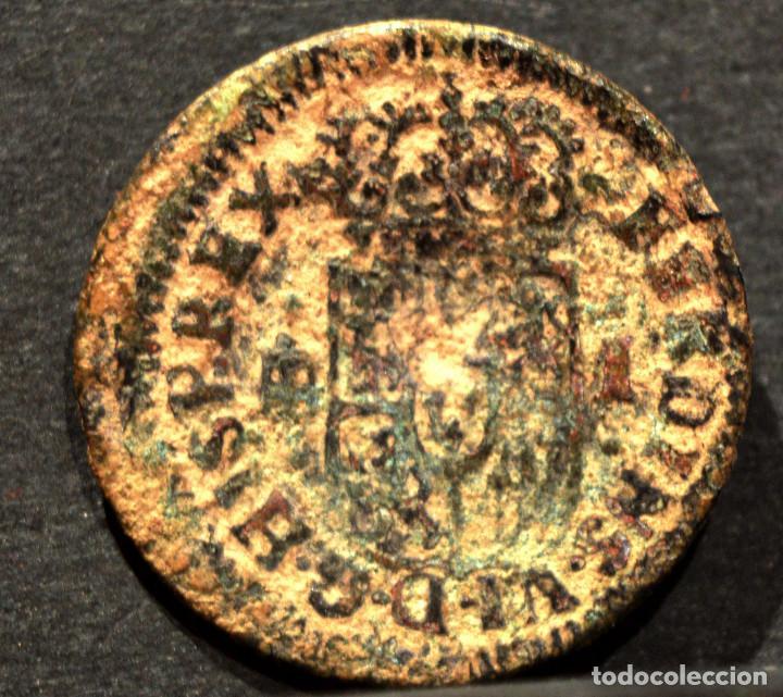 Monedas de España: 1 MARAVEDI SEGOVIA 1747 MARAVEDIS FERNANDO VI ESPAÑA - Foto 3 - 55345093