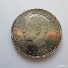 Monedas de España: ALFONSO XIII * 5 PESETAS 1898*98 SG V * PLATA. Lote 184381011