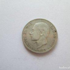 Monedas de España: ALFONSO XII * 2 PESETAS 1879*79 EM M * PLATA. Lote 184476432
