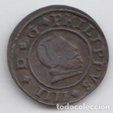 Monedas de España: 16 MARAVEDIS - FELIPE IIII 1663. Lote 184482406