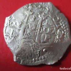 Moedas de Espanha: FELIPE IV. 8 REALES DE PLATA MACUQUINA. 1666. POTOSI. #MN. Lote 184558932
