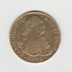 Monnaies d'Espagne: CARLOS IIII/IV- 8 ESCUDOS-1806-POTOSI-PJ. Lote 184580861