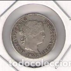 Monedas de España: MONEDA DE REAL DE ISABEL 2ª ACUÑADA EN BARCELONA EN 1857. PLATA. MBC (ISA47). Lote 184648957