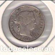 Monedas de España: MONEDA DE REAL DE ISABEL 2ª ACUÑADA EN BARCELONA EN 1860. PLATA. MBC+ (ISA48). Lote 184649466