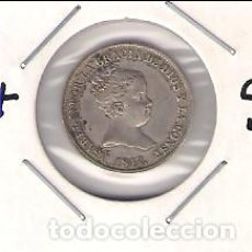 Monedas de España: MONEDA DE REAL DE ISABEL 2ª ACUÑADA EN MADRID EN 1847 ENSAYADOR CL. PLATA. MBC+ (ISA49). Lote 184650148