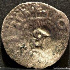 Monedas de España: DINERO DE BARCELONA JUANA Y CARLOS RESELLO CONTRAMARCA B. Lote 58609721