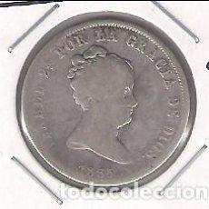 Monedas de España: MONEDA DE 4 REALES DE ISABEL 2ª ACUÑADA EN MADRID EN 1835 ENSAYADOR CR. PLATA. RC+ (ISA72). Lote 185232218