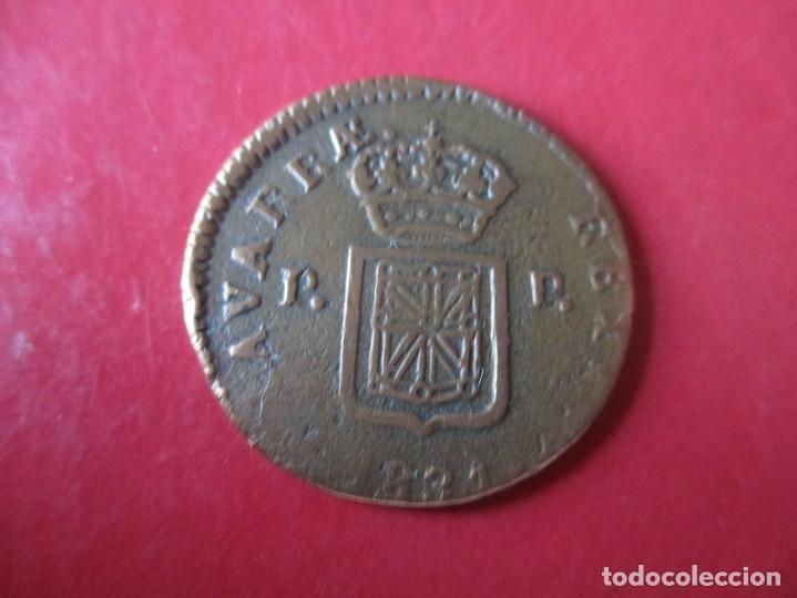 Monedas de España: Fernando VII. 3 maravedies 1831. Pamplona. #mn - Foto 2 - 185718380