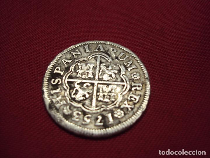 1 REAL DE PLATA DE 1753 , JB. MADRID. REY FERNANDO VI (Numismática - España Modernas y Contemporáneas - De Isabel II (1.834) a Alfonso XIII (1.931))