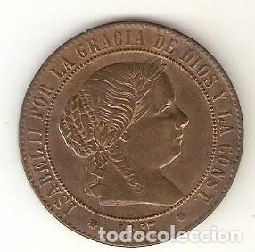 Monedas de España: moned3-137. 5 Céntimos de Escudo. Barcelona 1867 V.S. 198 - Foto 2 - 6177527