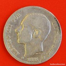 Monedas de España: 1 PESETA 1881 MSM ESTRELLAS (--)(--) BC+. Lote 186063700