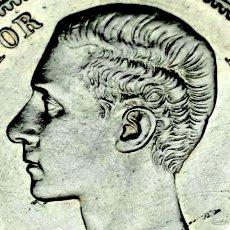 Monedas de España: 1 PESETA PLATA ALFONSO XII, 1876*18*76 DE-M !! EBC++ !!. Lote 186104843