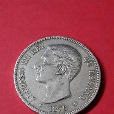 Monedas de España: ALFONSO XII. 5 PESETAS. 1876. Lote 186112337