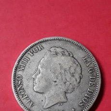 Monedas de España: ALFONSO XIII. 5 PESETAS. 1893. Lote 186112672