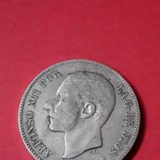 Monedas de España: ALFONSO XII. 5 PESETAS. 1883. Lote 186112760