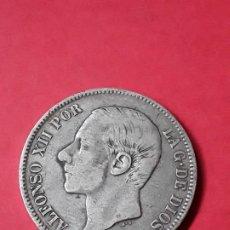 Monedas de España: ALFONSO XII. 5 PESETAS. 1882. Lote 186112795
