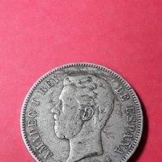 Monedas de España: AMADEO I. 5 PESETAS. 1871 (18-74) . Lote 186113035