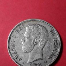 Monedas de España: AMADEO I. 5 PESETAS. 1871 (18-75) . Lote 186113060