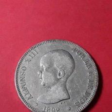 Monedas de España: ALFONSO XIII. 5 PESETAS. 1892. Lote 186113220
