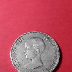 Monedas de España: ALFONSO XIII. 5 PESETAS. 1889. Lote 186113332