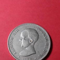 Monedas de España: ALFONSO XIII. 5 PESETAS. 1888 (18-88) . Lote 186113365