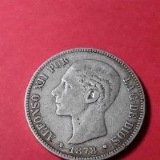 Monedas de España: ALFONSO XII. 5 PESETAS. 1878 -DEM . Lote 186113393
