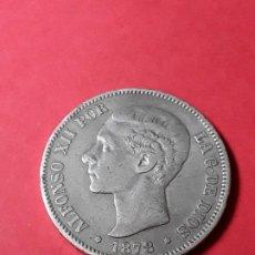 Monedas de España: ALFONSO XII. 5 PESETAS. 1878 -EMM. Lote 186113421