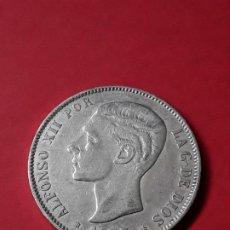 Monedas de España: ALFONSO XII. 5 PESETAS. 1877 (18-77). Lote 186113500