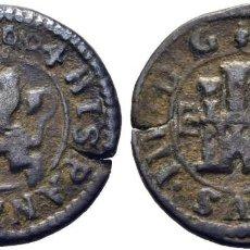 Monedas de España: FELIPE III. SEGOVIA INGENIO. 2 MARAVEDÍS. 1604. MBC+. Lote 186274710