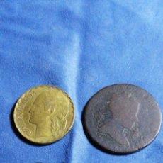 Monedas de España: LOTE DE ANTIGUAS MONEDAS DE ESPAÑA. Lote 202433205