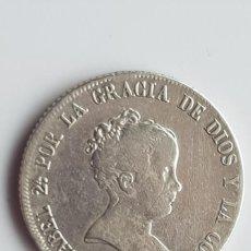Monedas de España: ESPAÑA ISABEL II 4 REALES, 1849 MBC M CL REFE; 3119 SILVER. Lote 186460346