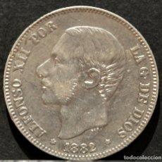 Monedas de España: 2 PESETAS 1882 ESPAÑA *18 *82 PLATA ALFONSO XII. Lote 51807566