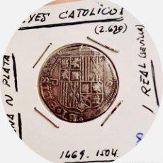 Monedas de España: ESPAÑA - REAL- REYES CATÓLICOS (1474 - 1504), CECA DE SEVILLA - PLATA. Lote 186281130