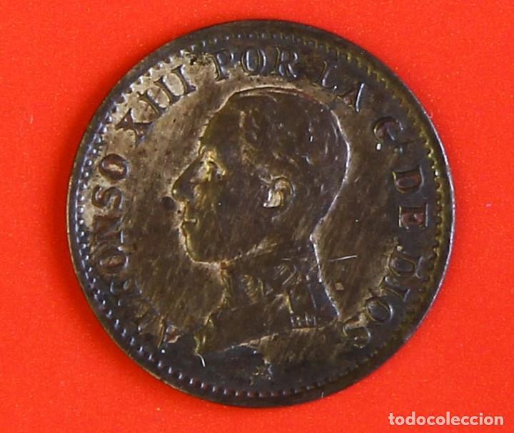 1 CENTIMO 1912 PCV ESTRELLAS (2) EBC (Numismática - España Modernas y Contemporáneas - De Isabel II (1.834) a Alfonso XIII (1.931))