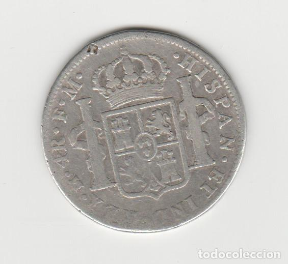 Monedas de España: CARLOS III- 4 REALES- 1789-MEXICO- RARA - Foto 2 - 187858180