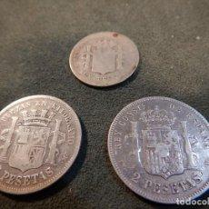 Monedas de España: LOTE 3 MONEDAS. Lote 188413828