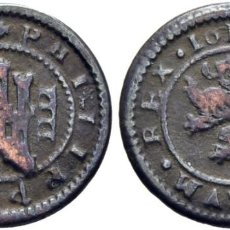 Monedas de España: FELIPE III. SEGOVIA INGENIO. 4 MARAVEDÍS. 1618. MBC+. Lote 188529995