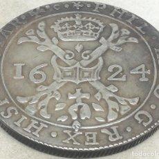 Moedas de Espanha: RÉPLICA MONEDA 1624. 1 PATAGÓN. ESPAÑA. REY FELIPE IV, PAÍSES BAJOS, FLANDES. Lote 204500952