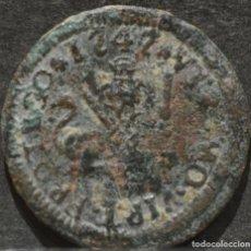Monedas de España: 1 MARAVEDÍ 1747 SEGOVIA MARAVEDIS FERNANDO VI ESPAÑA. Lote 188761093
