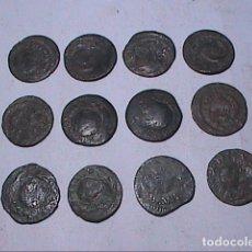 Monedas de España: LOTE DE 12 ARDITES DE CARLOS III (AUSTRIAS). CECA BARCELONA. 1708-1711.. Lote 189421366