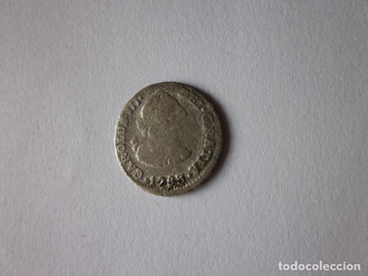 MEDIO REAL DE CARLOS III. 1783. MÉXICO TH. (Numismática - España Modernas y Contemporáneas - De Reyes Católicos (1.474) a Fernando VII (1.833))